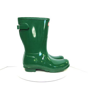 Women's Original Short Gloss Rain Boots Green